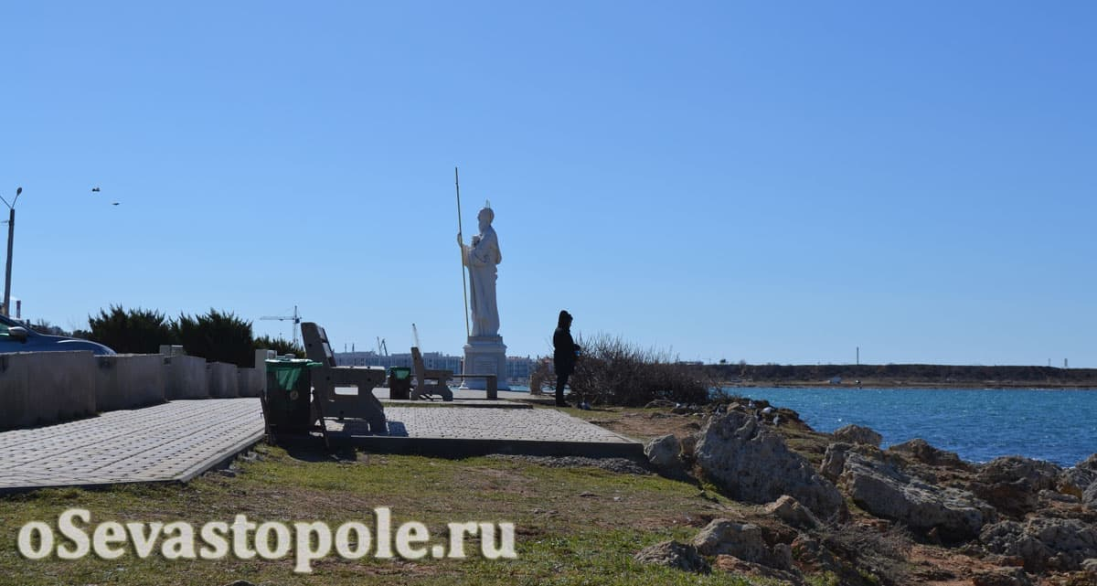 фото набережной Андрея Первозванного