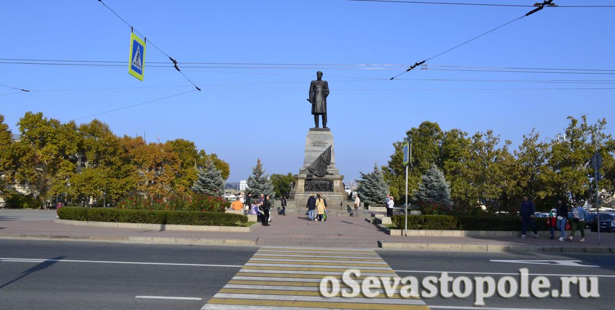 история памятника Нахимову в Севастополе