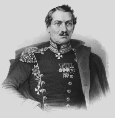 Генерал-лейтенант Павел Петрович Липранди. Командующий русским отрядом в Балаклавском сражении