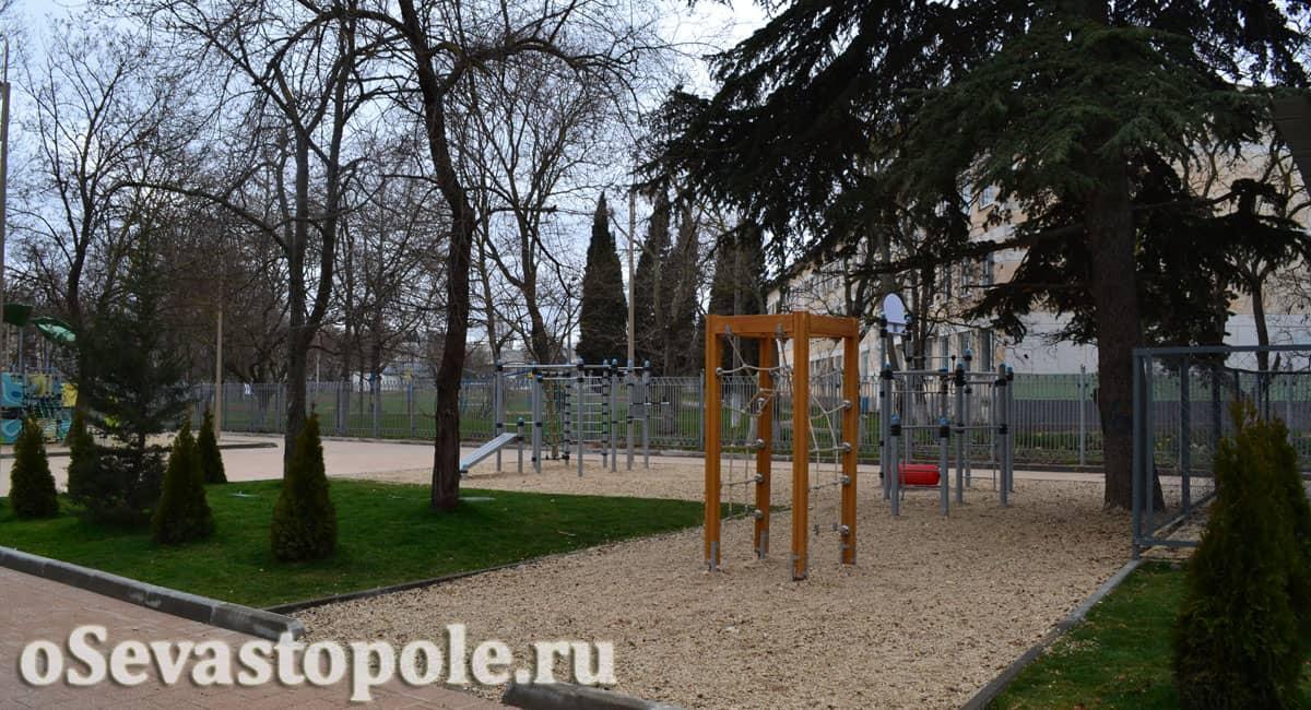 парк Ивана Голубца в Севастополе