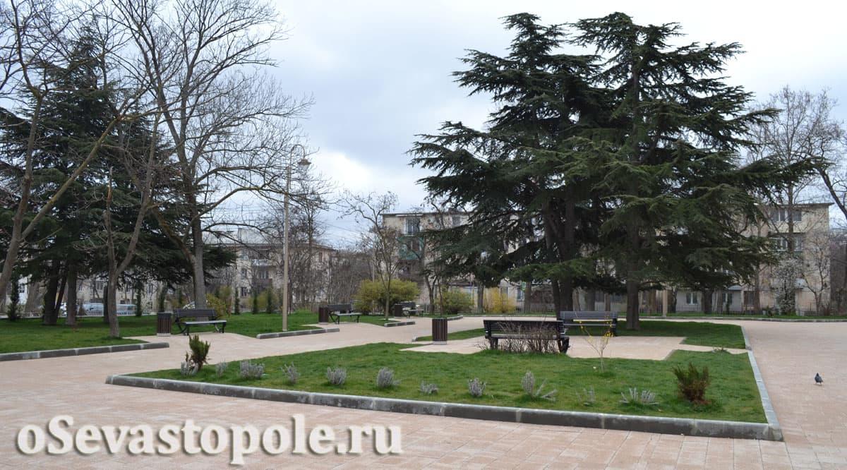 Сквер имени Ивана Голубца в Севастополе