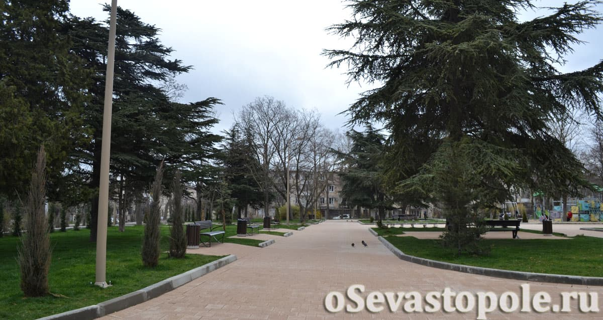 сквер Ивана Голубца в Севастополь