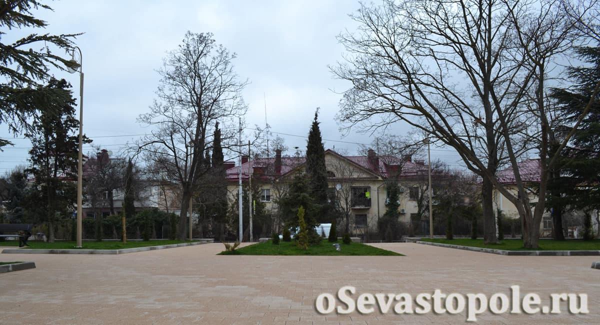 сквер Ивана Голубца в Севастополе