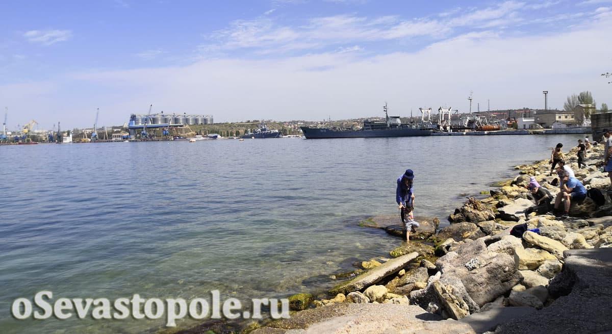 Фотографии пляжа Ушакова балка