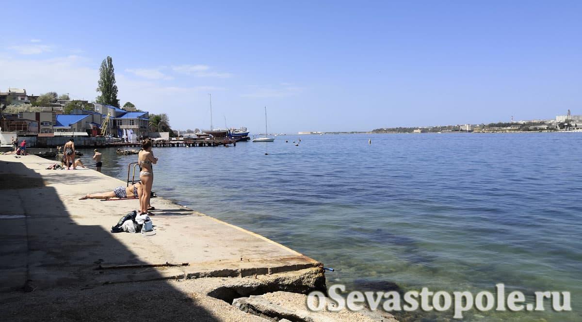 Пляж Ушаковка Севастополь